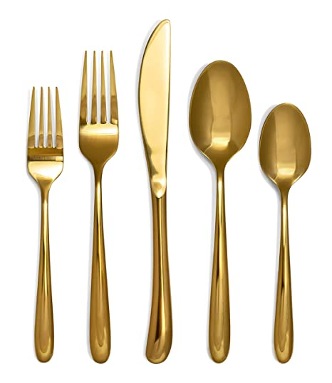 Amazon.com: Juego de utensilios de cocina de Silverware ...