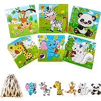 Felly Juguetes Niños 2 3 4 5 Años, Puzzles de Madera Educativos para Bebé, Juguete Montessori Puzzles Infantiles 6…