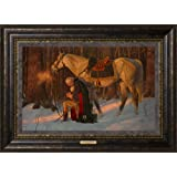Arnold Friberg - The Prayer at Valley Forge - Framed Canvas Giclee