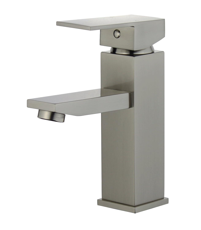 Bellaterra Home 10167-BN Granada Single Handle Bathroom ...