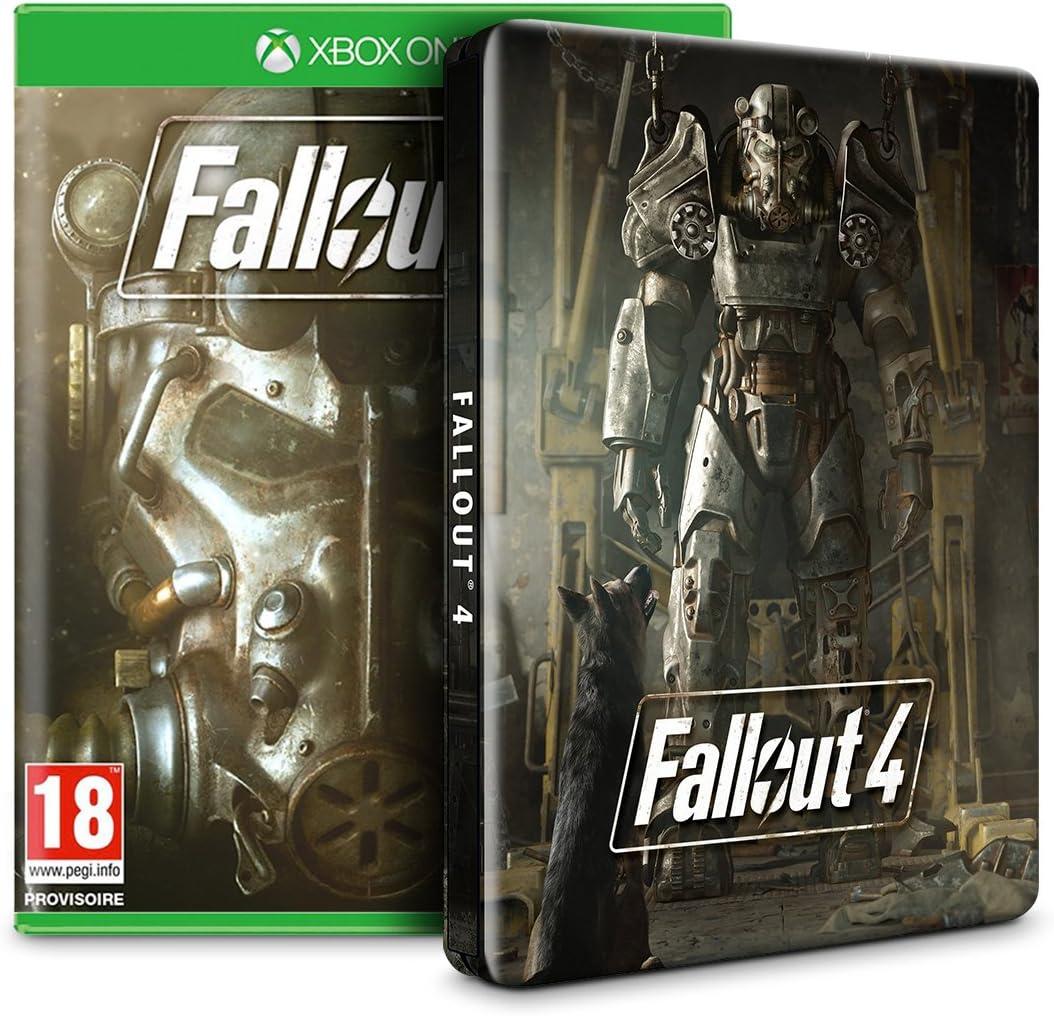 Fallout 4 + Steelbook - Exclusif Amazon [Importación Francesa ...