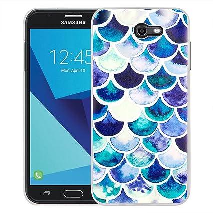 Amazon.com: Galaxy J7 funda de carcasa, Galaxy J7 PERX ...