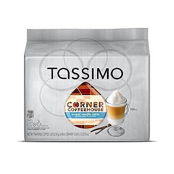 Corner Coffeehouse Sweet Vanilla Latte, T-Discs for Tassimo ... : vanilla latte quilts - Adamdwight.com