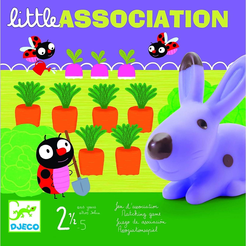 Djeco - Juego Little Association: Amazon.es: Juguetes y juegos