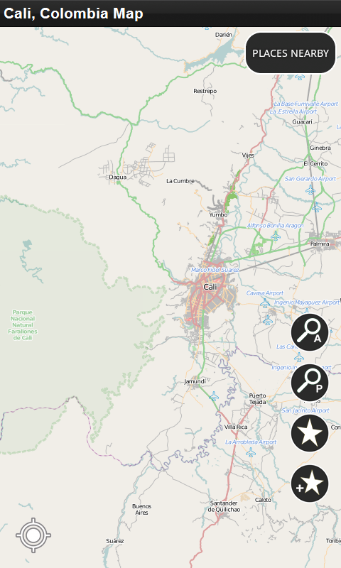 Amazon cali colombia offline map appstore for android publicscrutiny Image collections