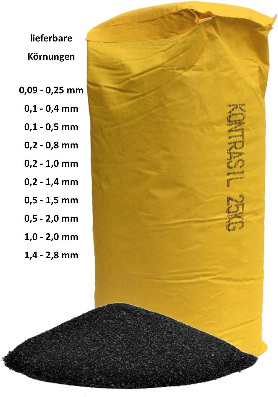 Strahlmittel Strahlgut Strahlschlacke 0,1-0,5 mm