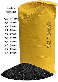 400-600 /µm 12,5 kg Strahlmittel Glasperlen Strahlglasperlen kugelige Form