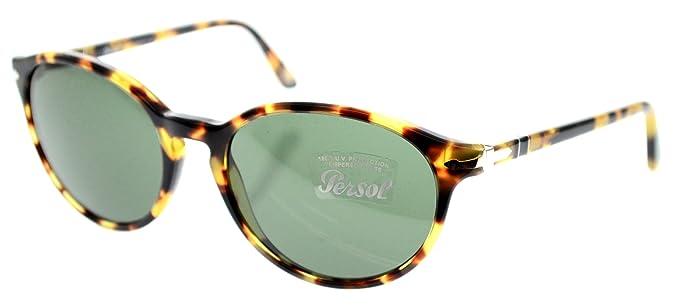 Amazon.com: Persol anteojos de sol po 3015s tortuga 124/31 ...