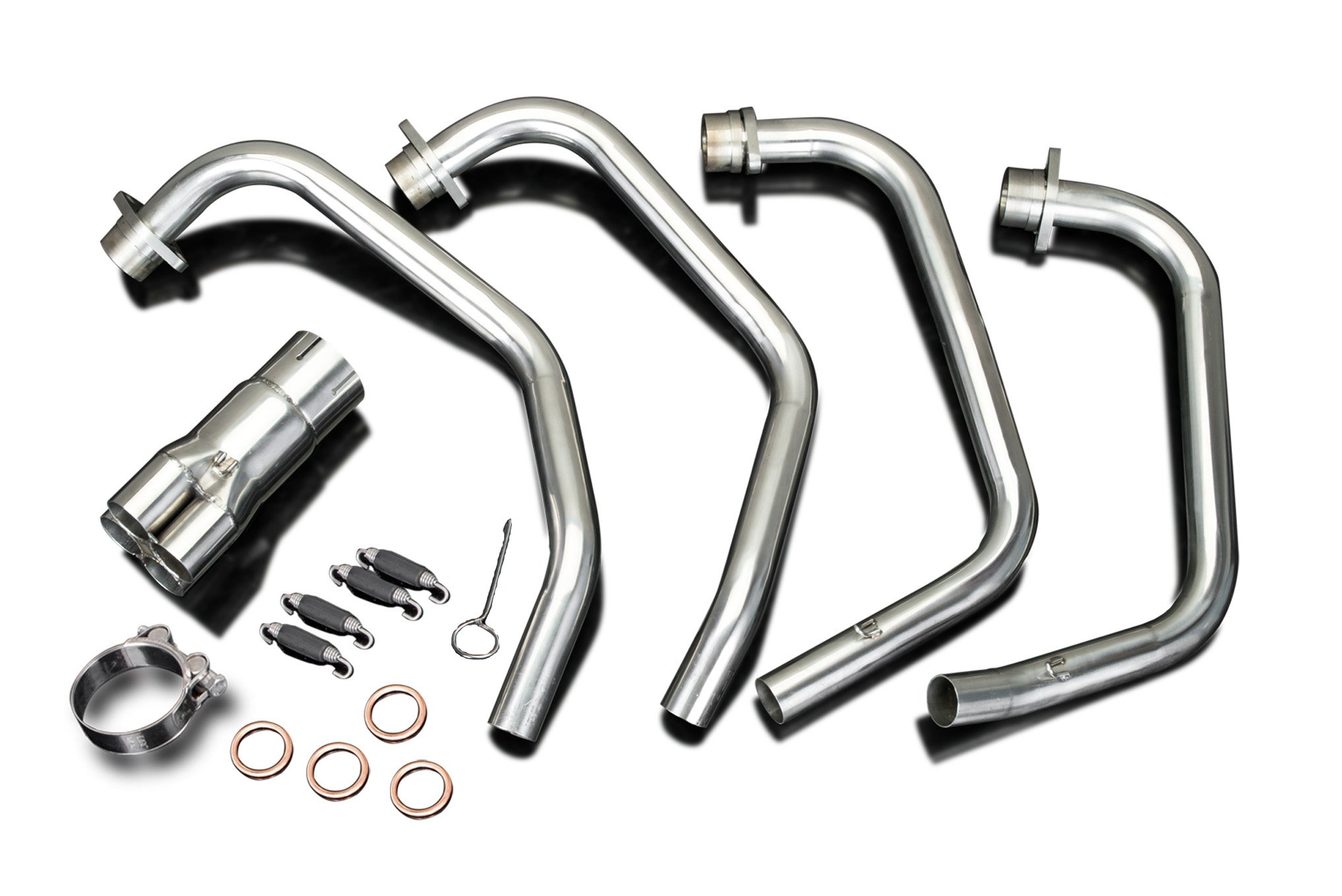 Honda CB750F Super Sport Stainless Steel Downpipes Header Exhaust Manifold 79 80 81 82 83 by Delkevic