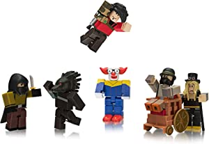 Roblox Action Collection - Night of the Werewolf Six Figure Pack [Includes Exclusive Virtual Item]
