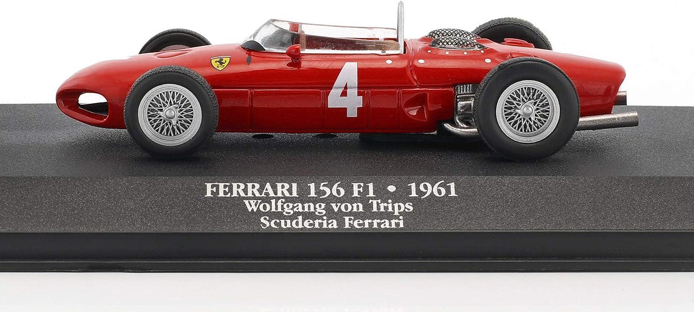Wolfgang Graf Berghe von Trips Ferrari 156 Sharknose #4 2nd Formel 1 1961 1:43 A