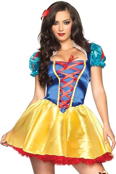 Amazon.com: Disney Leg Avenue - disfraz de Blancanieves para ...