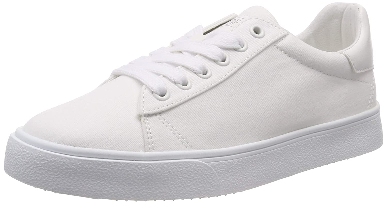 White (White 100) ESPRIT Women's's Cherry Lu Low-Top Sneakers