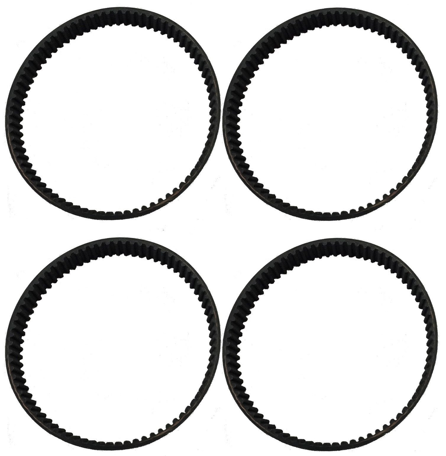 KHY (4Pack) Geared Belt for Dyson DC17 Animal Vacuum 10 mm