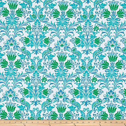 FreeSpirit Fabrics 0526065 Jennifer Paganelli Sunny Isle Dawn Green Fabric by The Yard