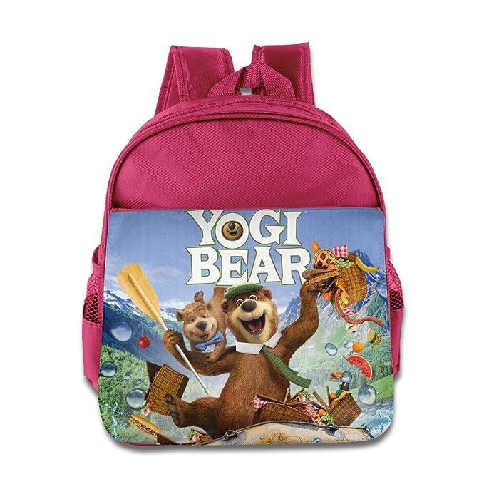 fb54dacaf Kids The Yogi Bear Show School Backpack Fashion Baby Children School Bags  Pink
