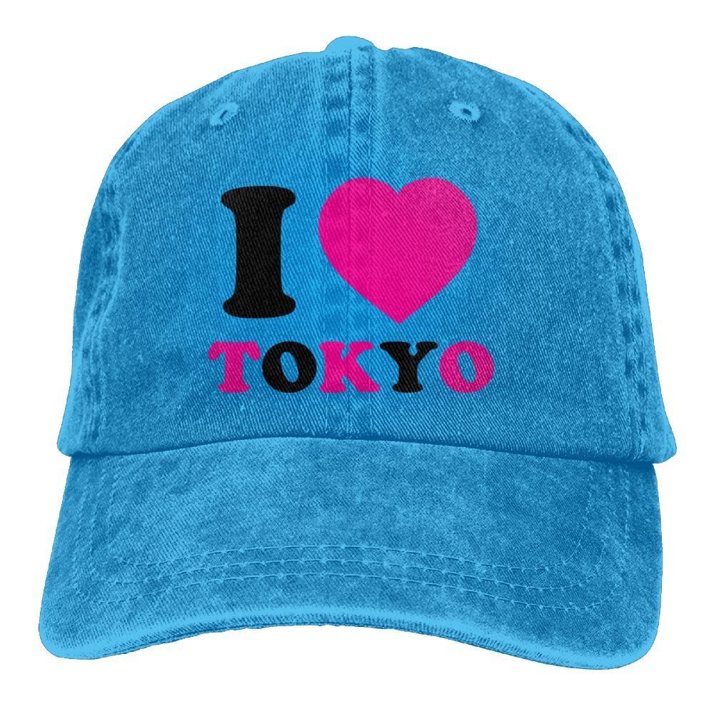 e809265611 Amazon.com: Lichang Trucker Baseball Hat I Love Tokyo Polo Cowboy Caps  Unisex: Clothing