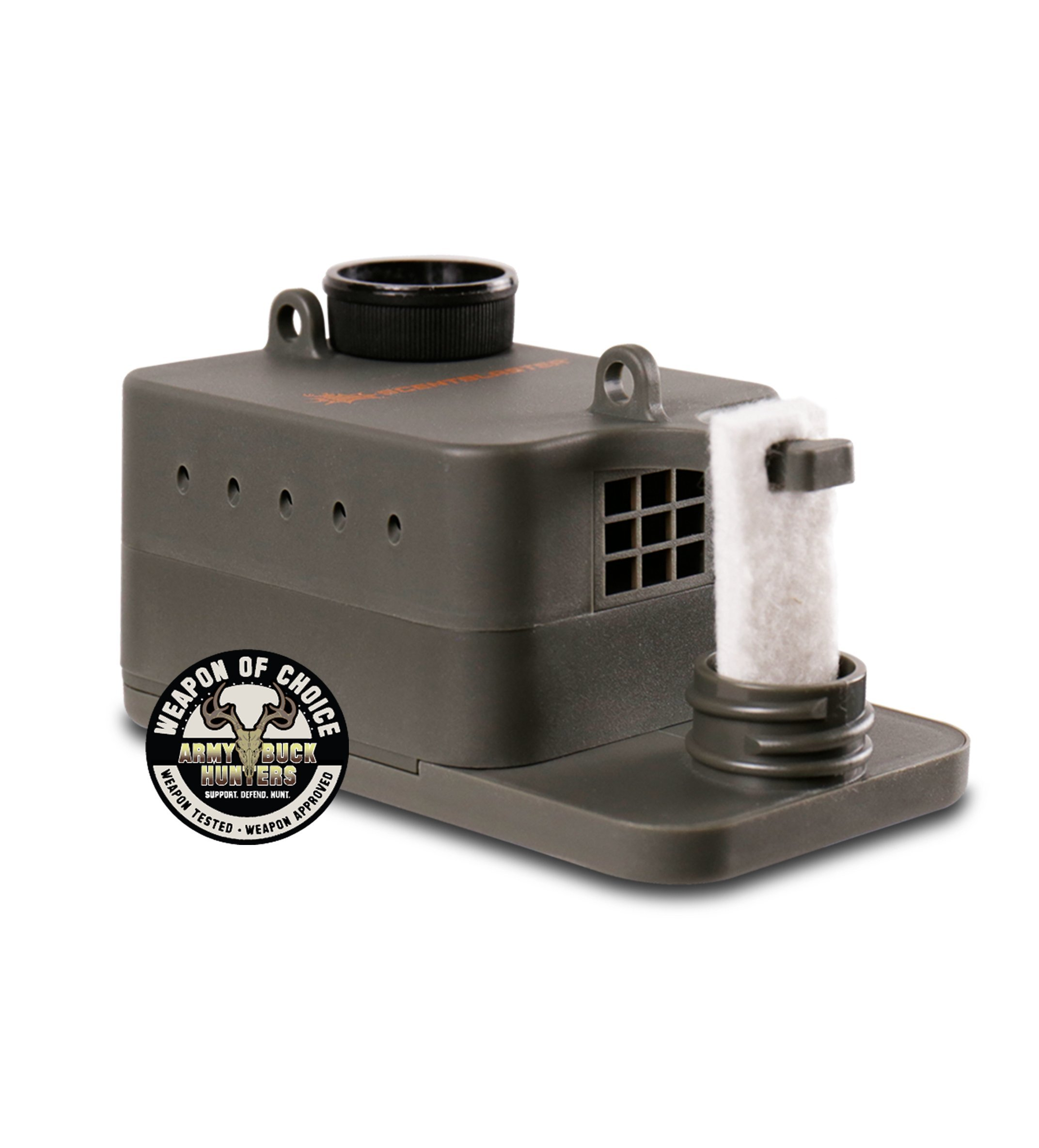 ScentBlaster Pro Kit, ScentBlasterWick 6-Pack & Extra ScentContainer. The World's best wicking system, works with any hunting scent, attracts more game to the kill zone! by ScentBlaster (Image #3)