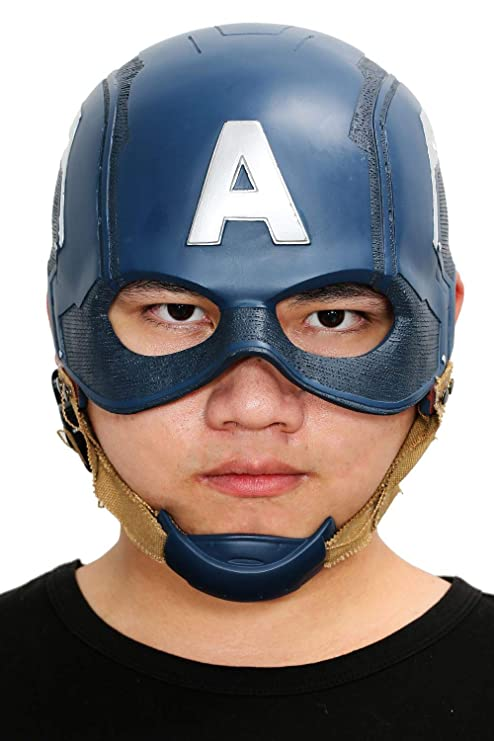 Mesky EU Máscara de Steve Rogers Capitán América Mask Disfraz ...