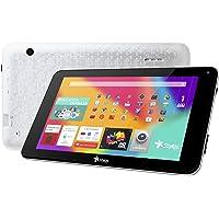"Tablet Taris 7"" Pantalla HD Memoria Ram 1GB + 8GB expandible a 32GB, Doble cámara, Android Lollipop 5.1 Color Plata"