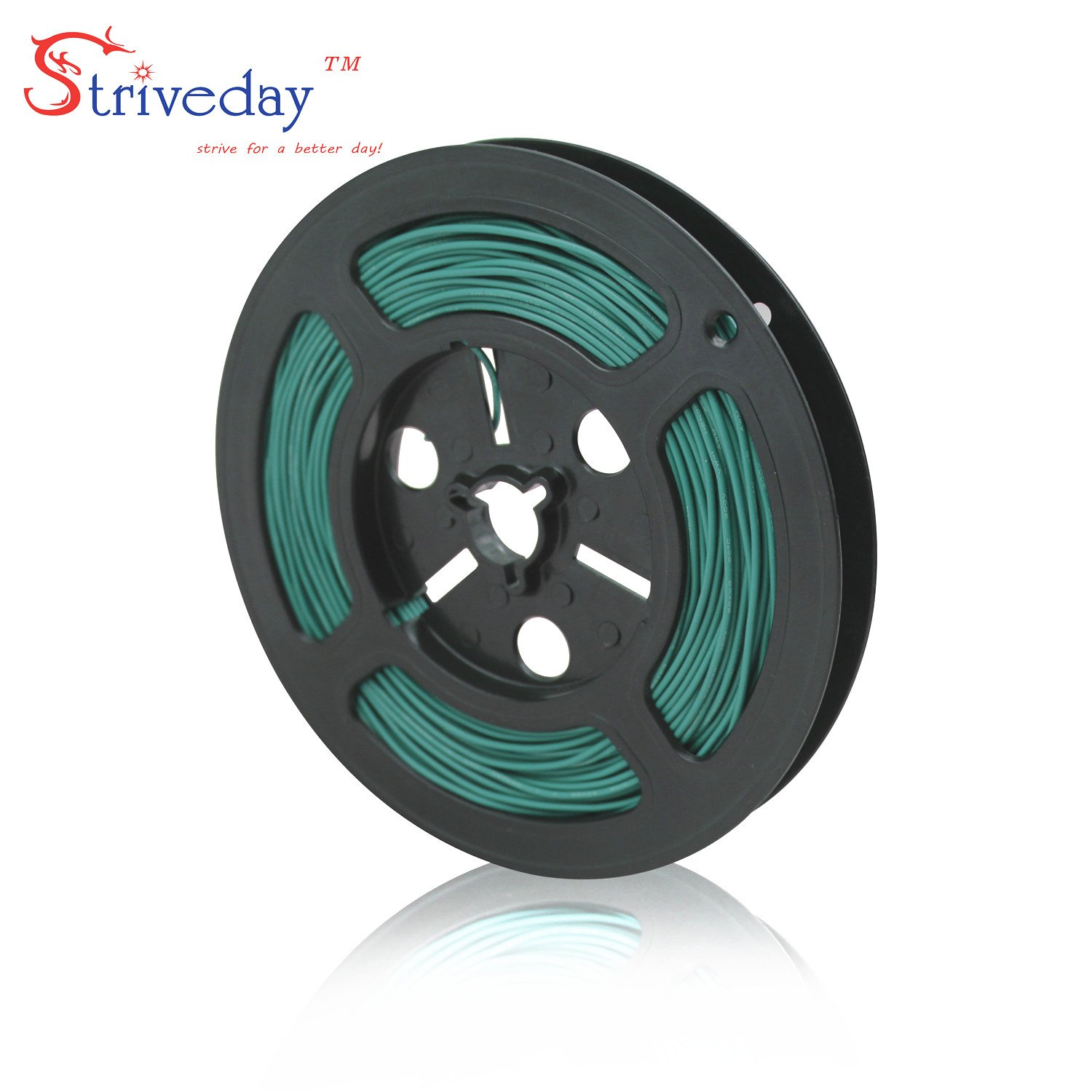Striveday/™ 1007 24AWG Electric wire 24 Gauge//AWG Electronic Stranded Coper Wire Cable Hook Up Wire For DIY 300V Cables 24AWG-Black-10m