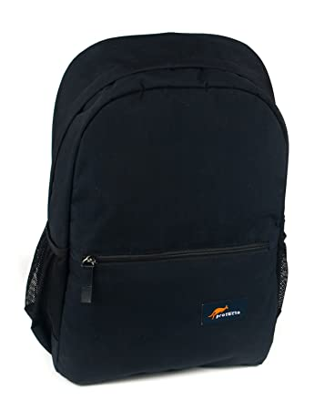 Protecta Quitely Capable 15.6 inch Laptop Backpack  Black