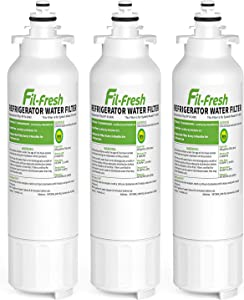Fil-fresh LT800P NSF Certified Refrigerator Water Filters, Replacement for LG LT800P, ADQ73613402, ADQ73613401, Kenmore 9490, 469490, 46-9490, LSXS26326S, LMXC23746S, LMXC23746D, LSXS26366S, 3 Pack
