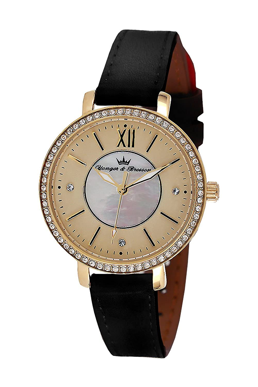 YONGER&BRESSON Damen-Armbanduhr DCP 049S-EA