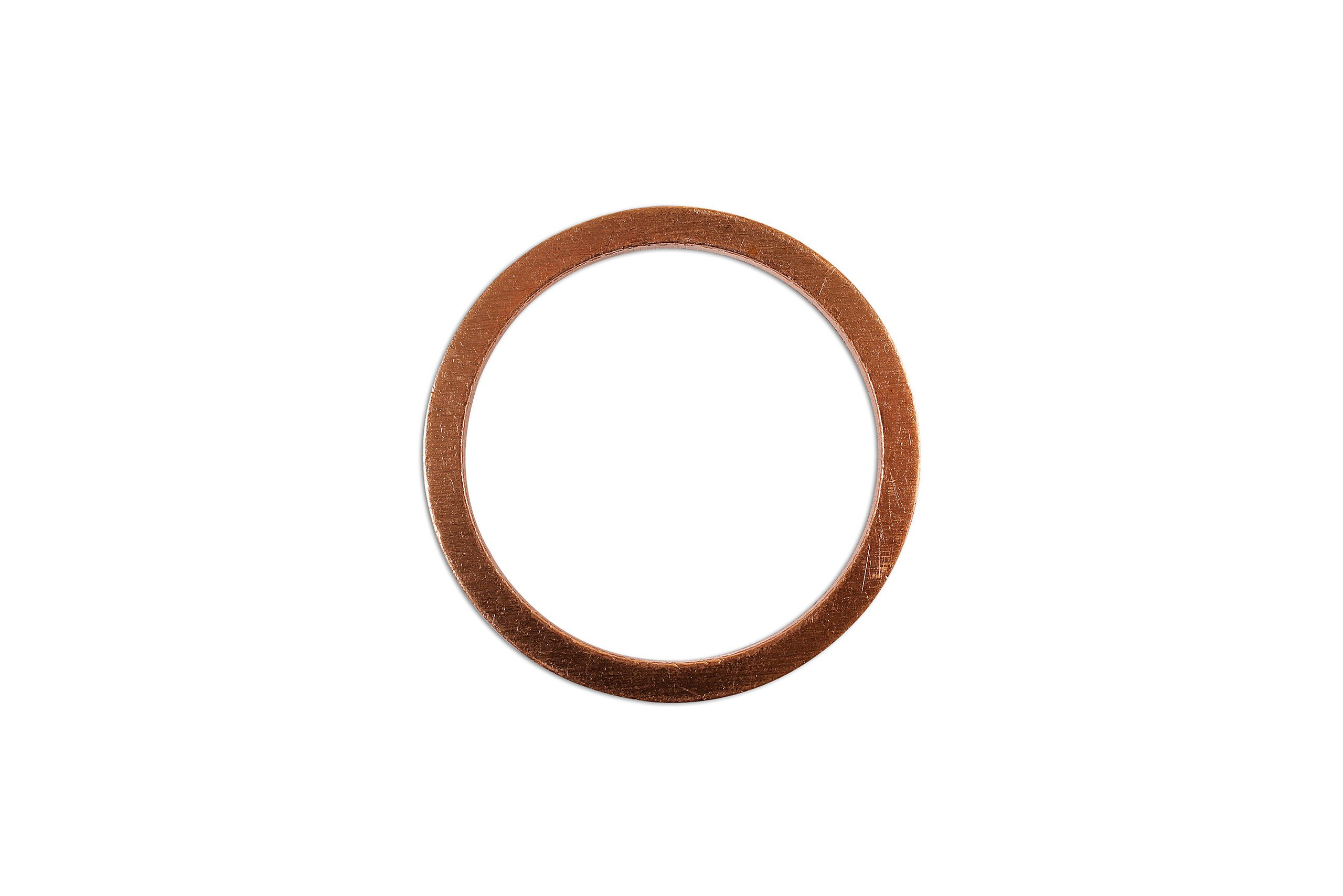 Connect - 36785 Sump Plug Washer Copper 26mm x 32mm x 2mm Pk 10