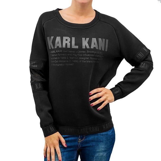 Karl Kani - Jerséi - para mujer negro  Amazon.es  Ropa y accesorios 3d494f535e0