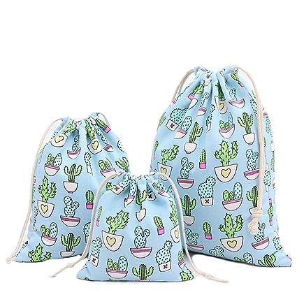 Abaría - 3 unidades bolsa de almacenamiento pequeña - Bolso de pañal del bebé - Bolsa