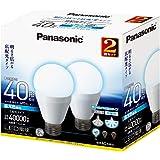 パナソニック LED電球 6.6W 2個入(昼光色相当) 口金直径26mm (広配光タイプ)明るさ 電球40W形相当(485lm) LDA7DGK40W2T