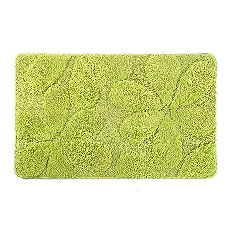 BAIJJ Cojín, alfombras de trébol Verde, alfombras de Noche ...