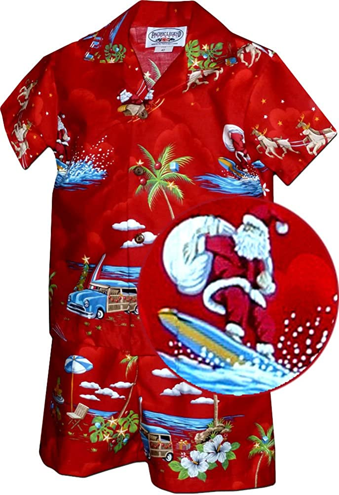 Christmas Hawaiian OutfitToddler Boys