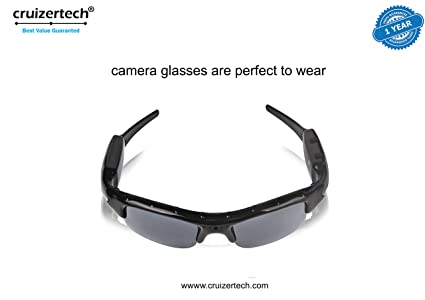 272581c4f0ee Buy CruizerTech® Original HD Sunglass Camera With FREE CruizerTech ...