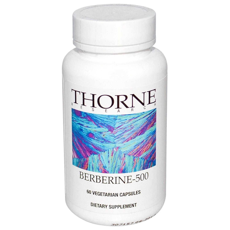 Thorne Research(ソーンリサーチ) - ベルベリン-500 - 60カプセル [海外直送品] B009LI7VRC