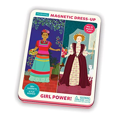 Girl Power! Magnetic Figures: Toys & Games