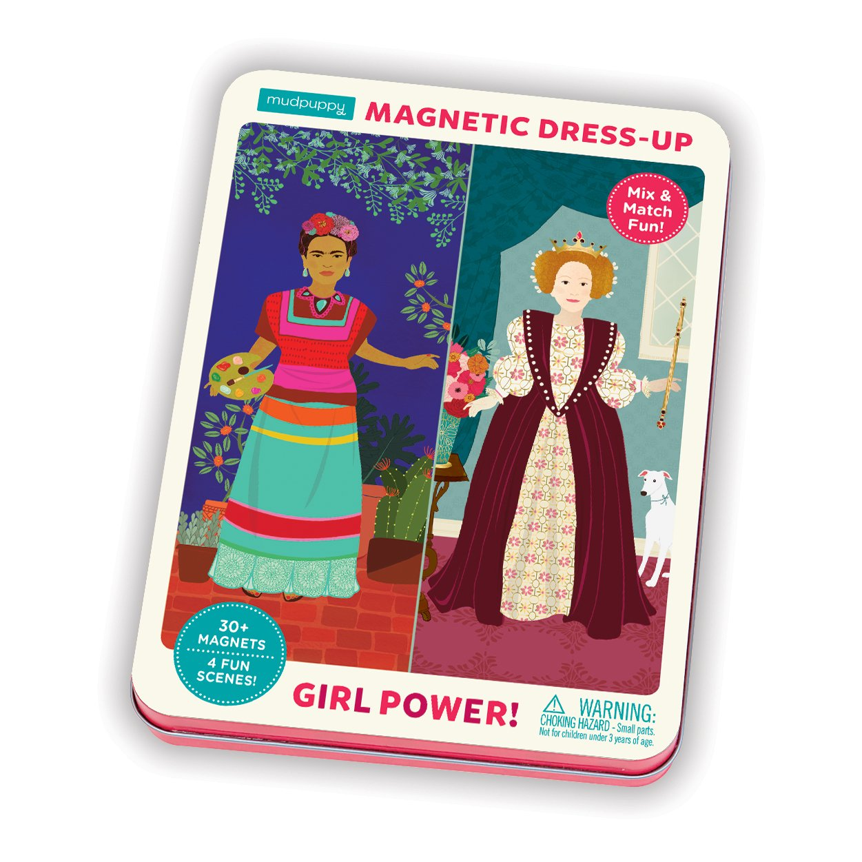 Mudpuppy Girl Power! Magnetic Figures by Mudpuppy