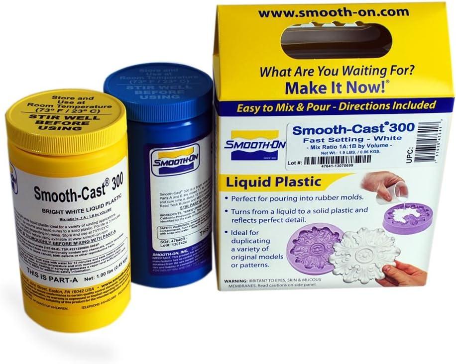 Smooth-Cast 300 Liquid Plastic Compound - Trial Unit