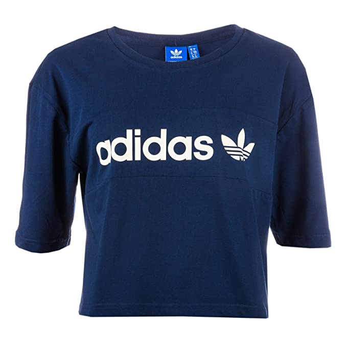 adidas Originals - Camiseta - para Mujer añil XL