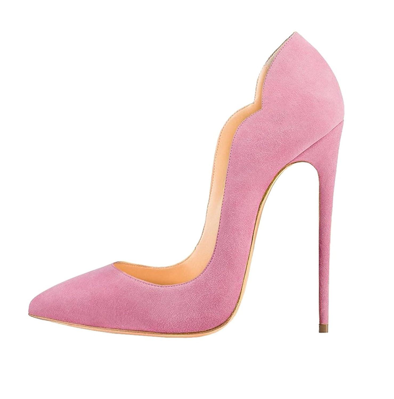 4dfb4a3fa10dc Soireelady Femme Escarpin Sexy Talon Haut Aiguille Club Soiree Chaussures  Taille Grande  Amazon.fr  Chaussures et Sacs