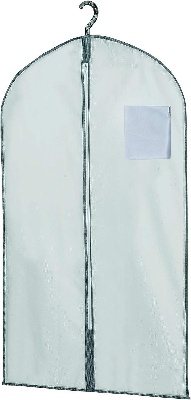 Antipolvere Nero COMPACTOR Set di 3 Custodie per abiti corte 100 cm Chiusura lampo RAN9836 60 x H