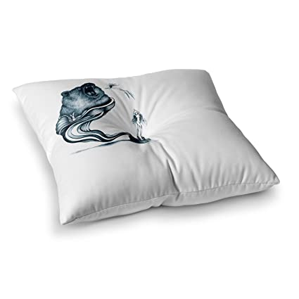 Kess InHouse Graham Curran The Blanket II 26 x 26 Square Floor Pillow