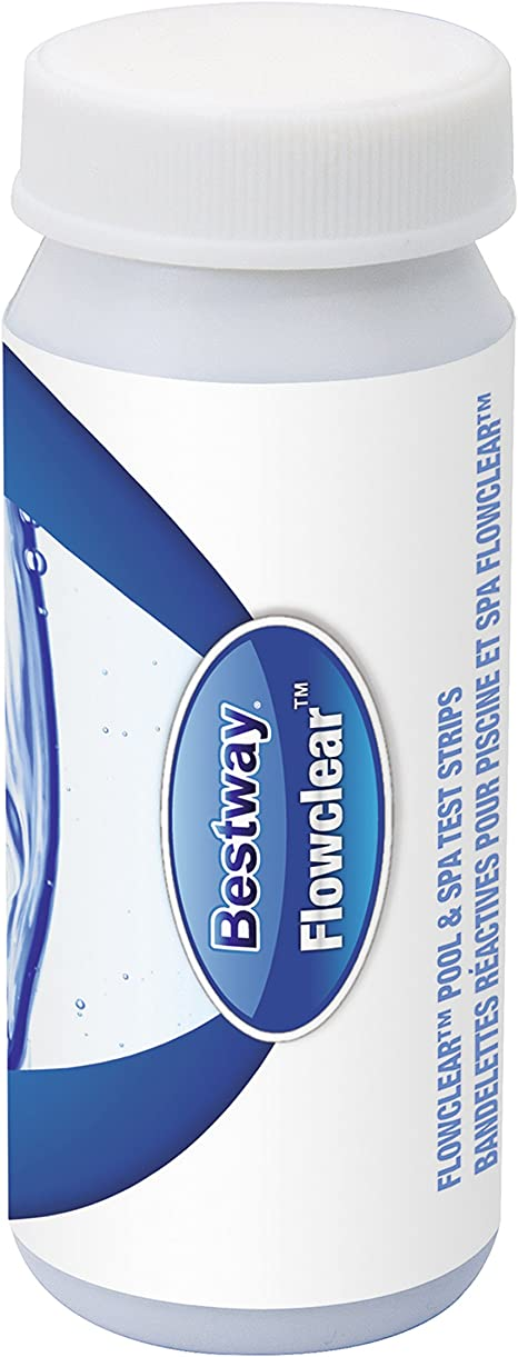 Bestway 58247e String Attached Pool And Spa Test Strips Amazon Ca Patio Lawn Garden