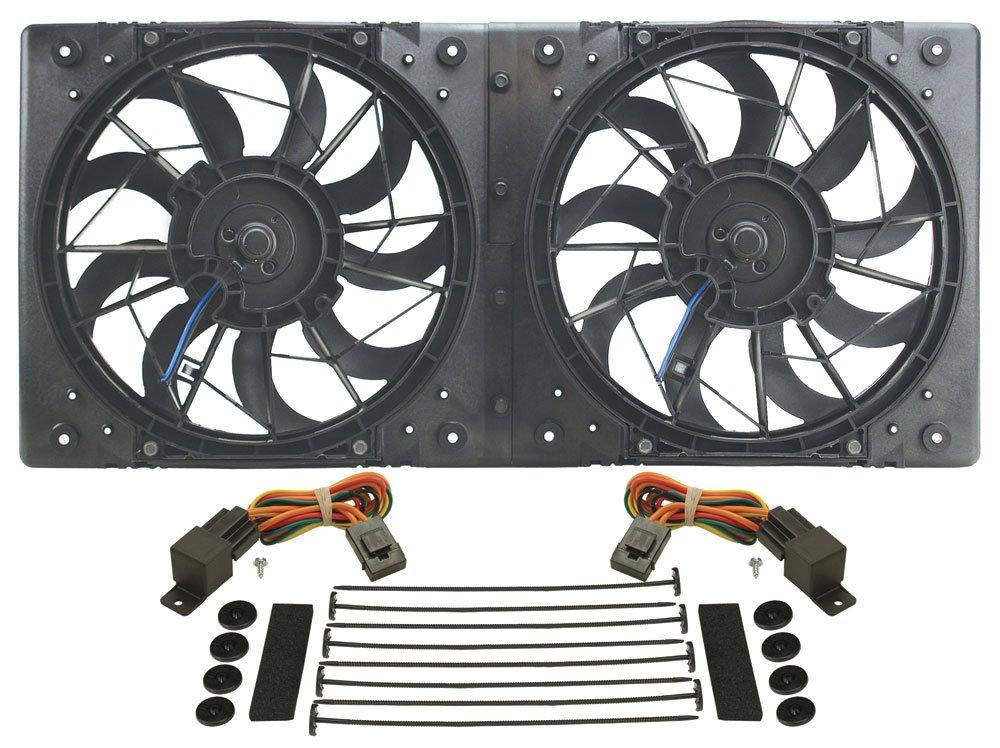 Derale 16812 High Output Dual Radiator Fan