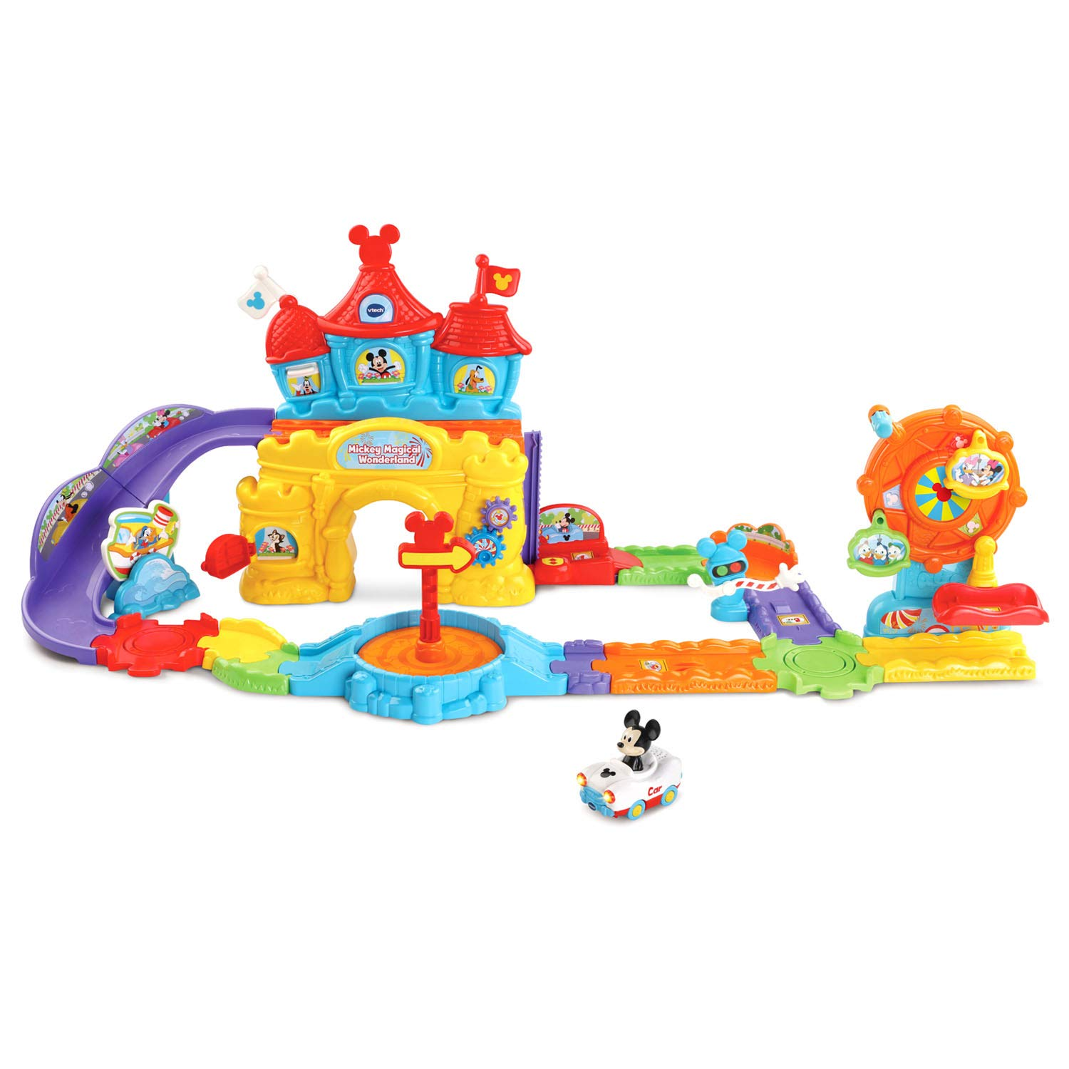 VTech Go! Go! Smart Wheels Mickey Mouse Magical Wonderland, Multicolor