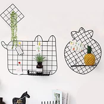 3-Pack Gbyan Grid Wall Panels with Accessories