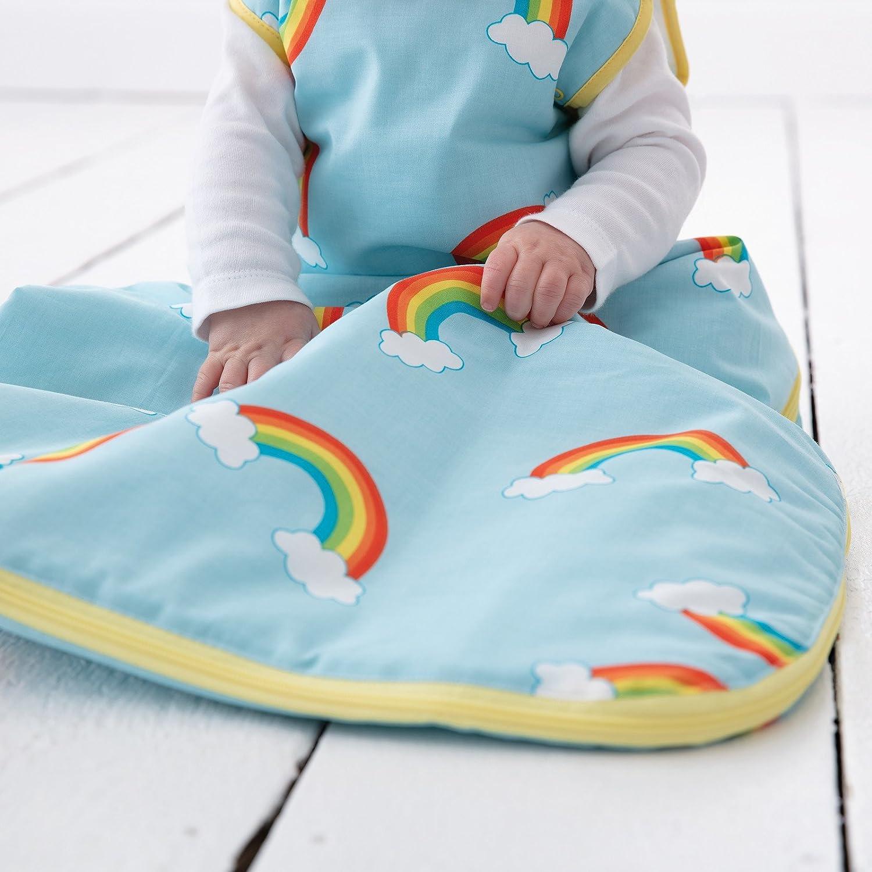 Tommee Tippee GRO Saco de dormir Grobag, 0-6 m, 1.0/2.5 TOG, Rayas arcoíris