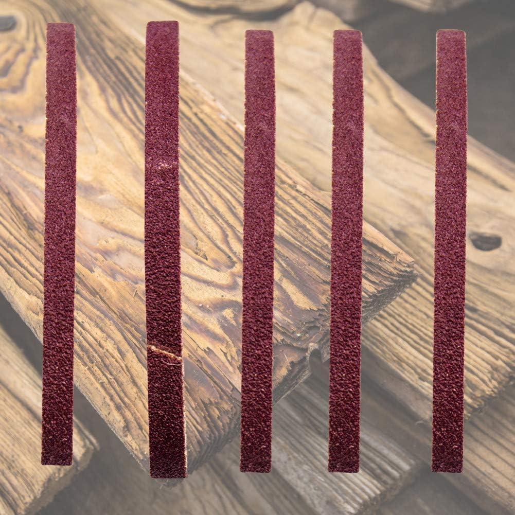 10pcs 15 x 330mm//25 x330mm Sanding Belts Set Sanding Belt 60-1000 Grit Grinding and Polishing Replacement for Angle Grinder