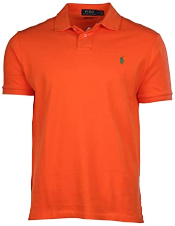 Ralph Lauren - Polo - para Hombre BSK TBL Orange Medium: Amazon.es ...